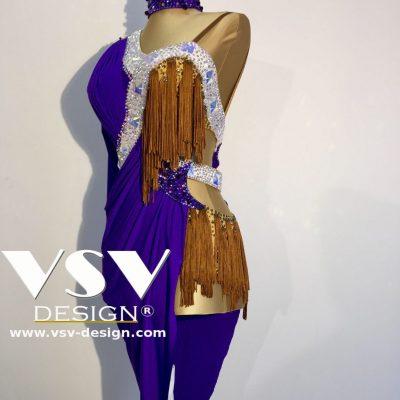 Hannah Latin dress