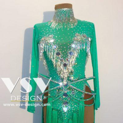 Elena Latin dress