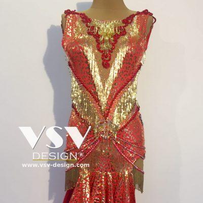 Cleopatra Latin dress