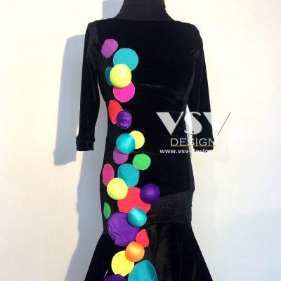 Xenia Latin dress