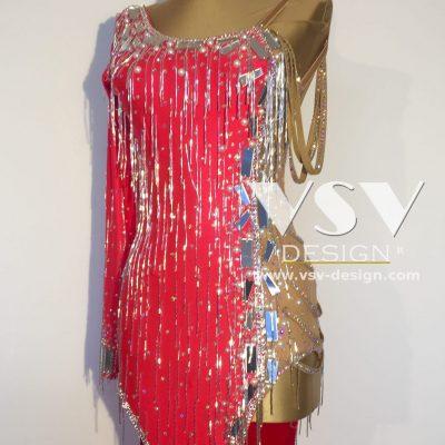 Amber Latin dress