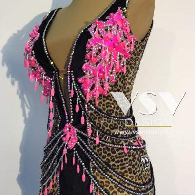 Naomi Latin dress