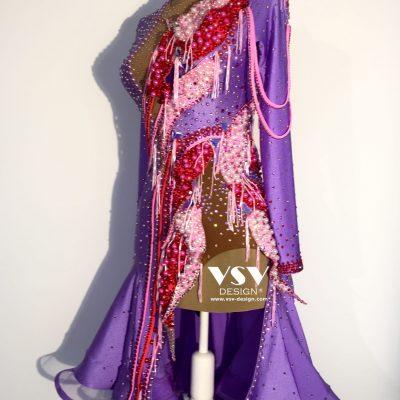 Cindy Latin dress