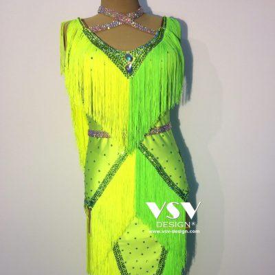 Electra Latin dress