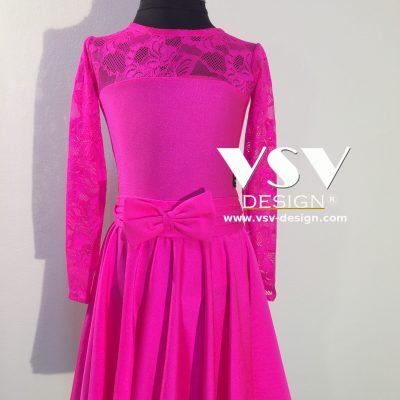 Pink! Juvenile dress