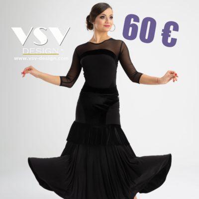 Ballroom skirt #3021