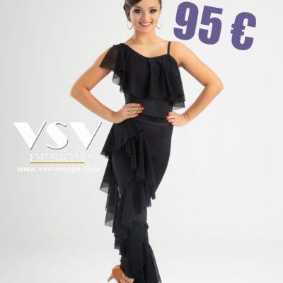 Latin jumpsuit #3036